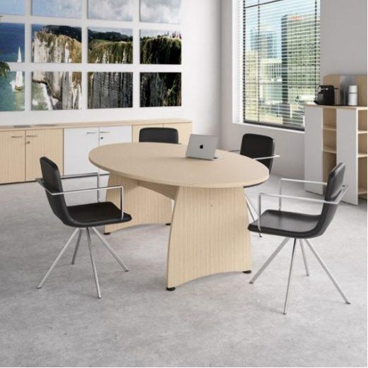 Ensemble Modular Meeting Table Panel Base