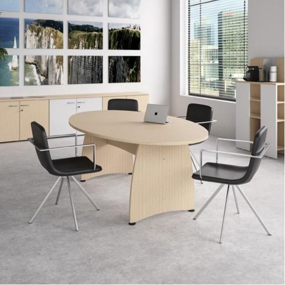 Ensemble Modular Meeting Table Panel Base Allard Office Furniture - Modular meeting table
