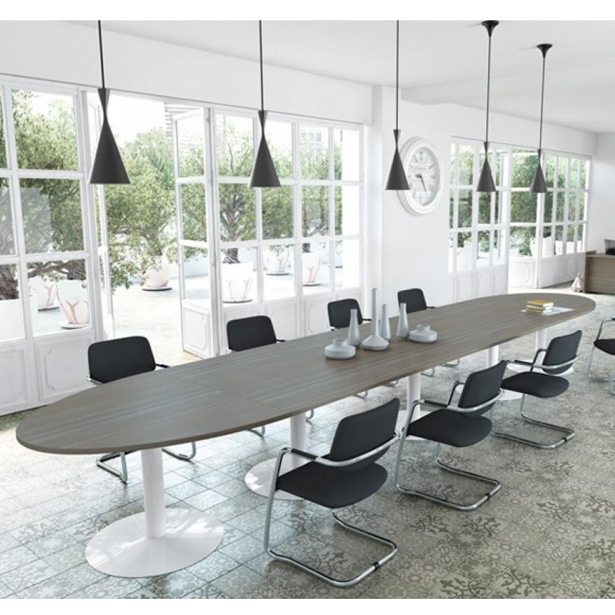 Ensemble Modular Meeting Table Trumpet Base Allard Office Furniture - Modular meeting table