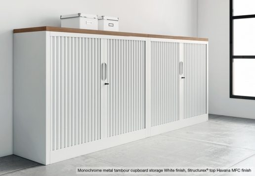 Tambour Cupboards Office Storage Solutions From Allard