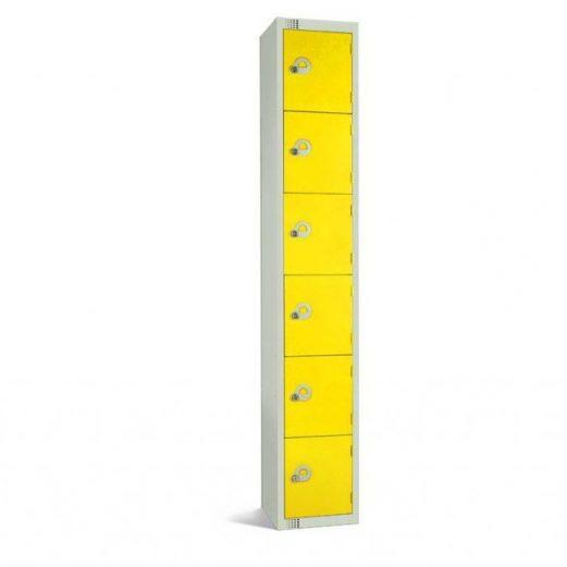 Elite Six Door Lockers
