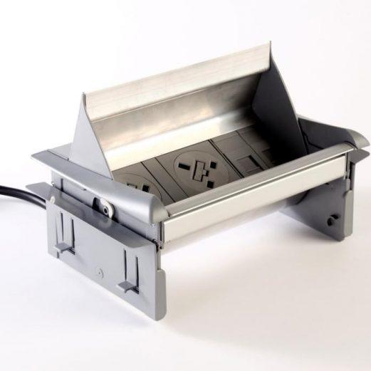 Aero Flip Power Desk Module