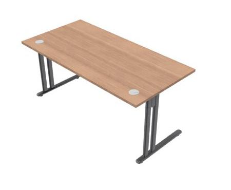 Essentiel Beam Straight Desk Allard Office Furniture