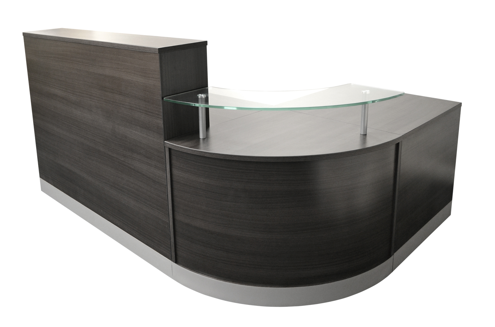 Initial Curved Reception Counter