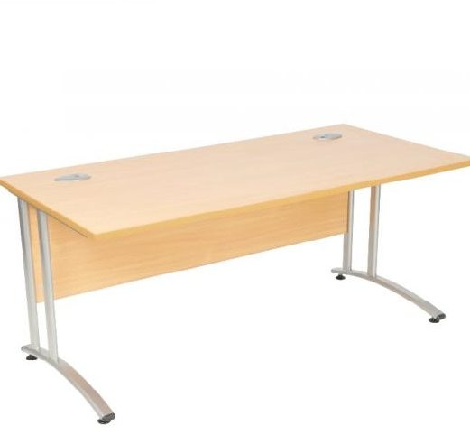 Initial Cantilever Straight Desk