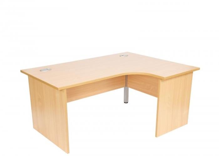 Initial Panel End Radial Desk Allard Office Furniture