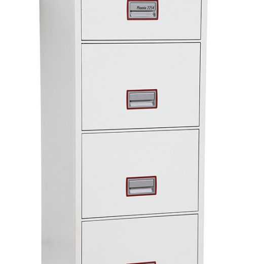 Phoenix 4 Drawer Fire Proof Cabinet Electronic