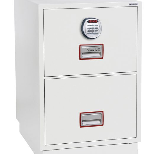 Phoenix 2 Drawer Fire Proof Cabinet Electronic