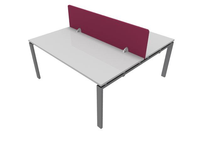 Bon Buronomic Courtoise Removable Melamine Desk Dividers