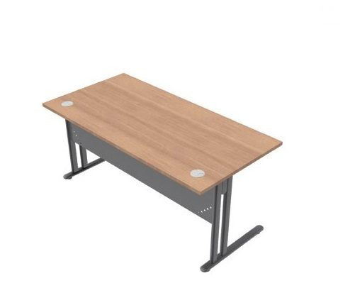 Essentiel Metal Straight Desk