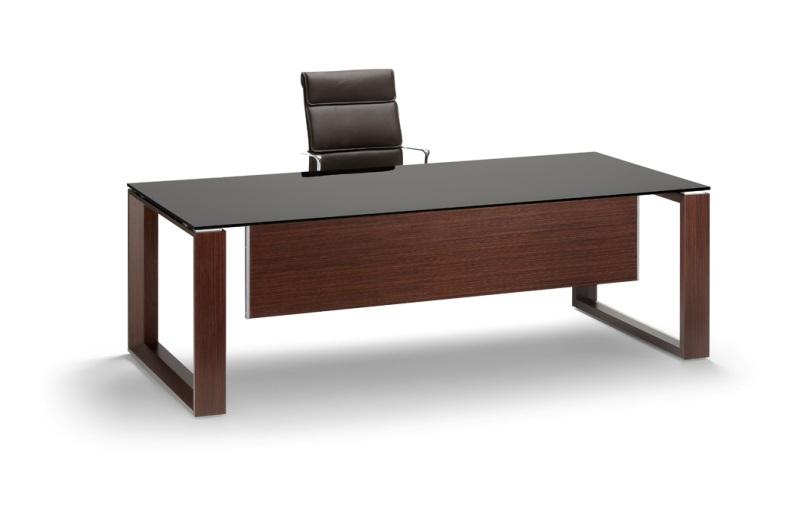 Arche Executive Desk Glass Top Allard Office Furniture