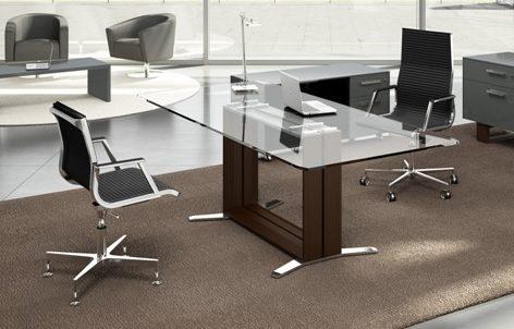 Arche Meeting Table Glass Top Allard Office Furniture