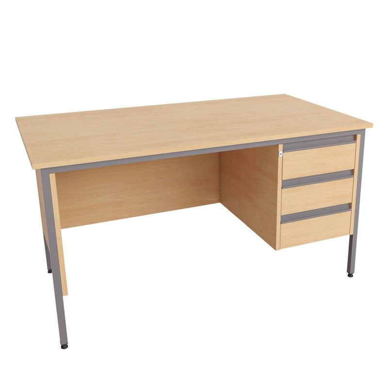 Galaxy Single Pedestal Desk