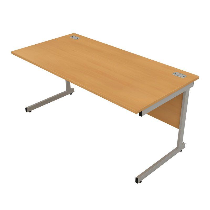 Satellite Straight Desk Cantilever Allard Office Furniture