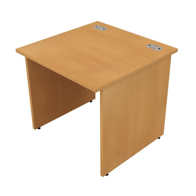 Satellite Straight Desk Panel End Leg