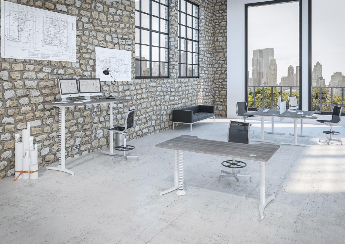Envol Electric Height Adjustable Desk Accessories Allard