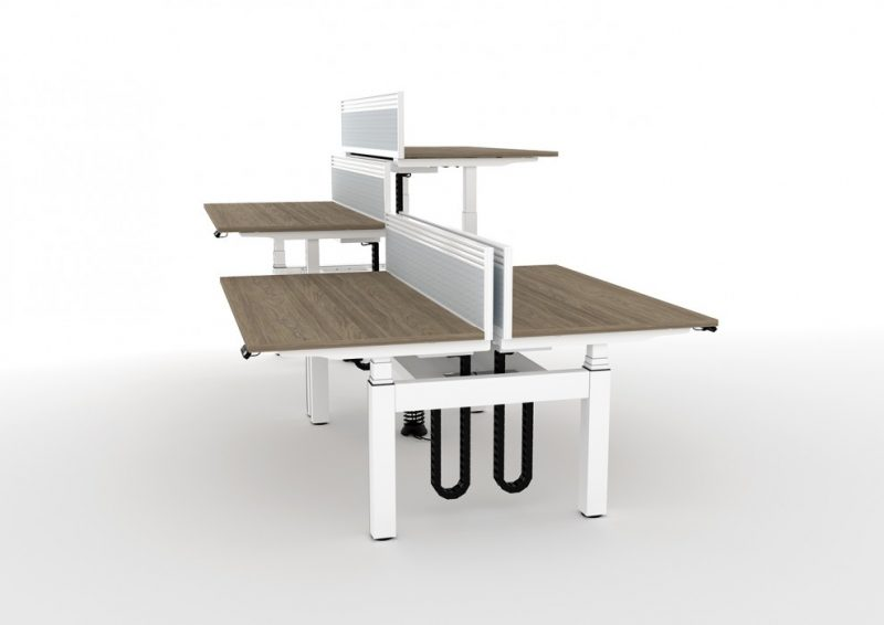HWK Gravity Ddouble Electric Sit Stand Desks