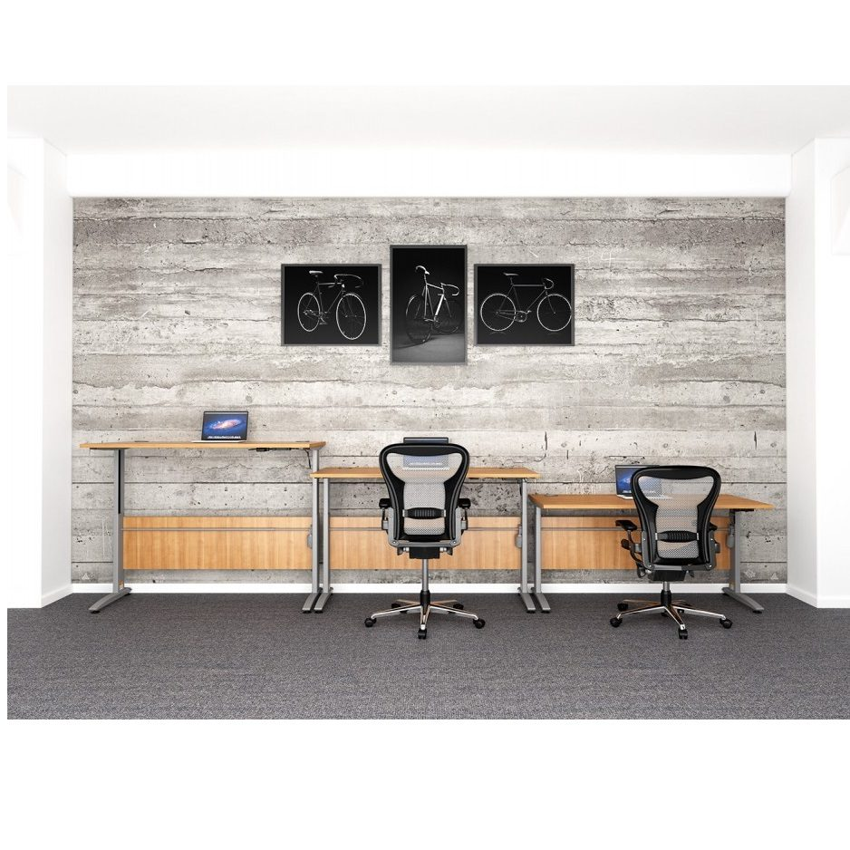 HWK Tradition Electric Height Adjustable Desk