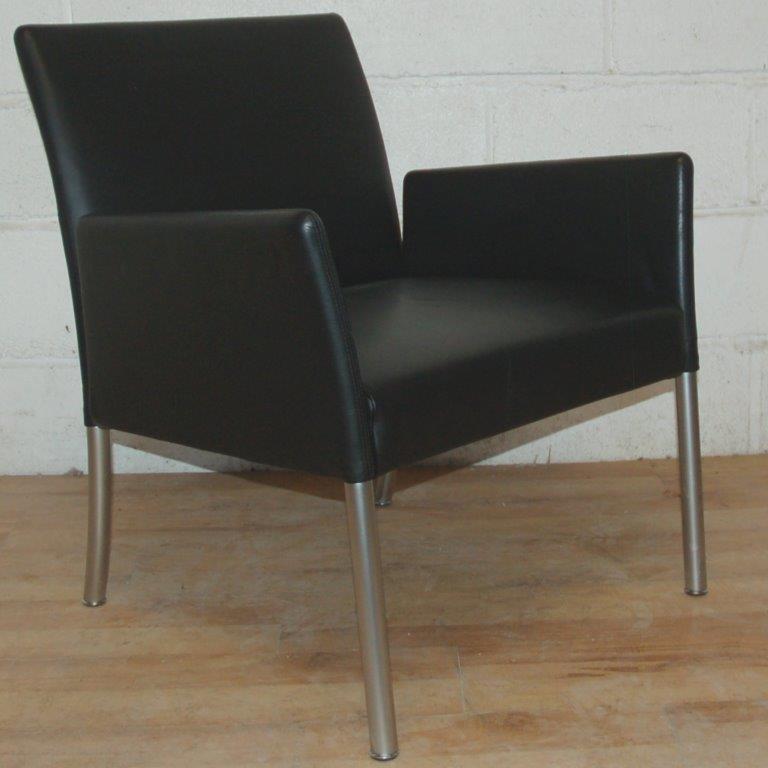set of 4 walter knoll jason armchairs 3004 allard office. Black Bedroom Furniture Sets. Home Design Ideas