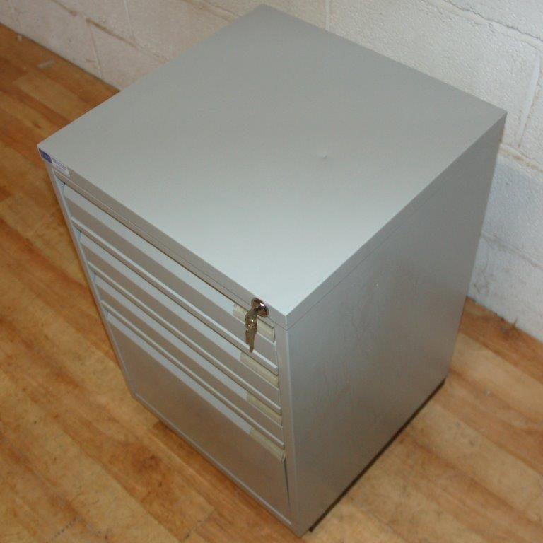 BISLEY F Series 4dwr Cabinet Grey VGC Allard Office Furniture