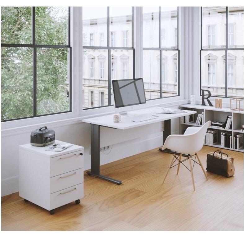 Buron Straight Office Desk