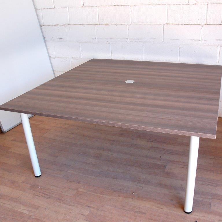 Cedar White Square Meeting Table Mm X Mm - Square meeting table