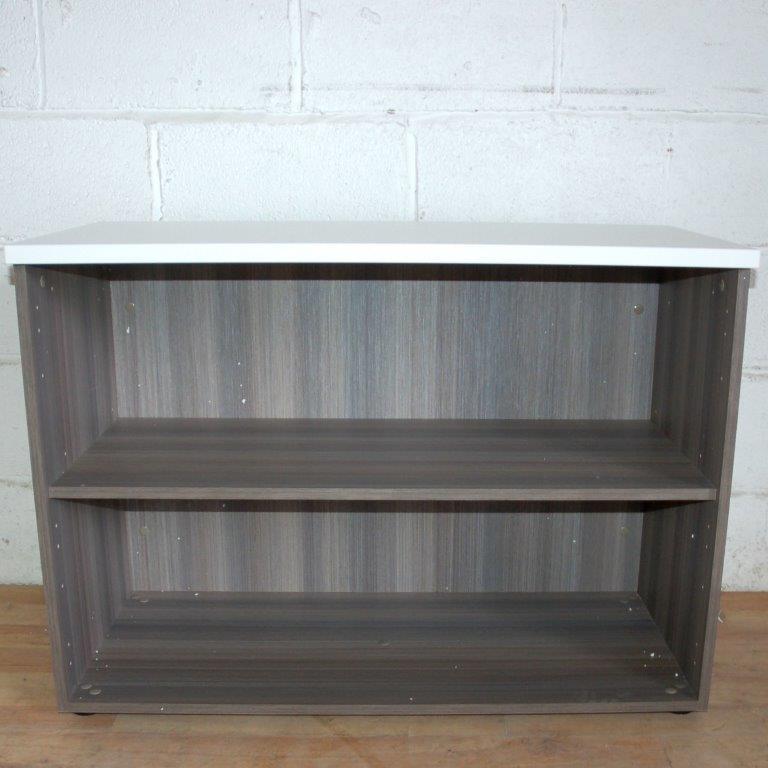 Desk-hi Bookcase Cedar 72cmH 4011