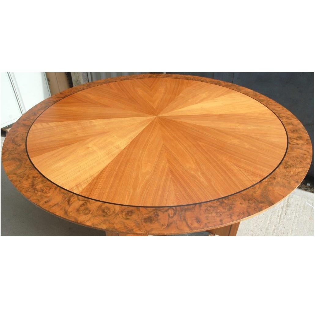 Circular table wood veneer 150cmdia 15019