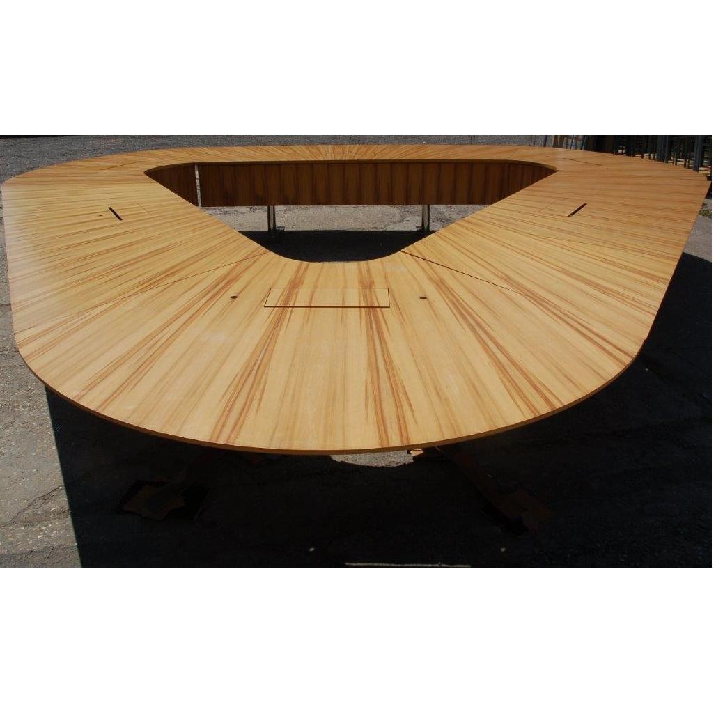 Conference Boardroom Table 500cm Wood Veneer 15015