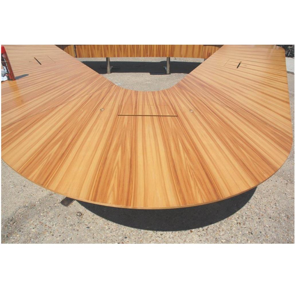 Conference Boardroom Table Cm Wood Veneer - Wood veneer conference table