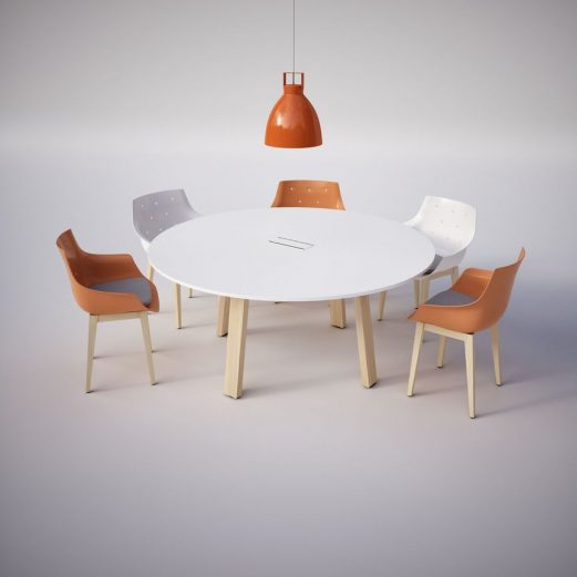 Take OFF Country Circular Meeting Table
