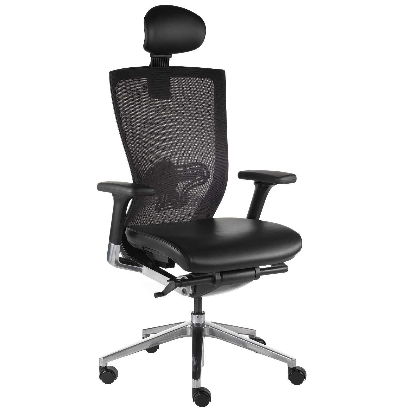 X Mesh Executive Office Chair With Headrest Milani