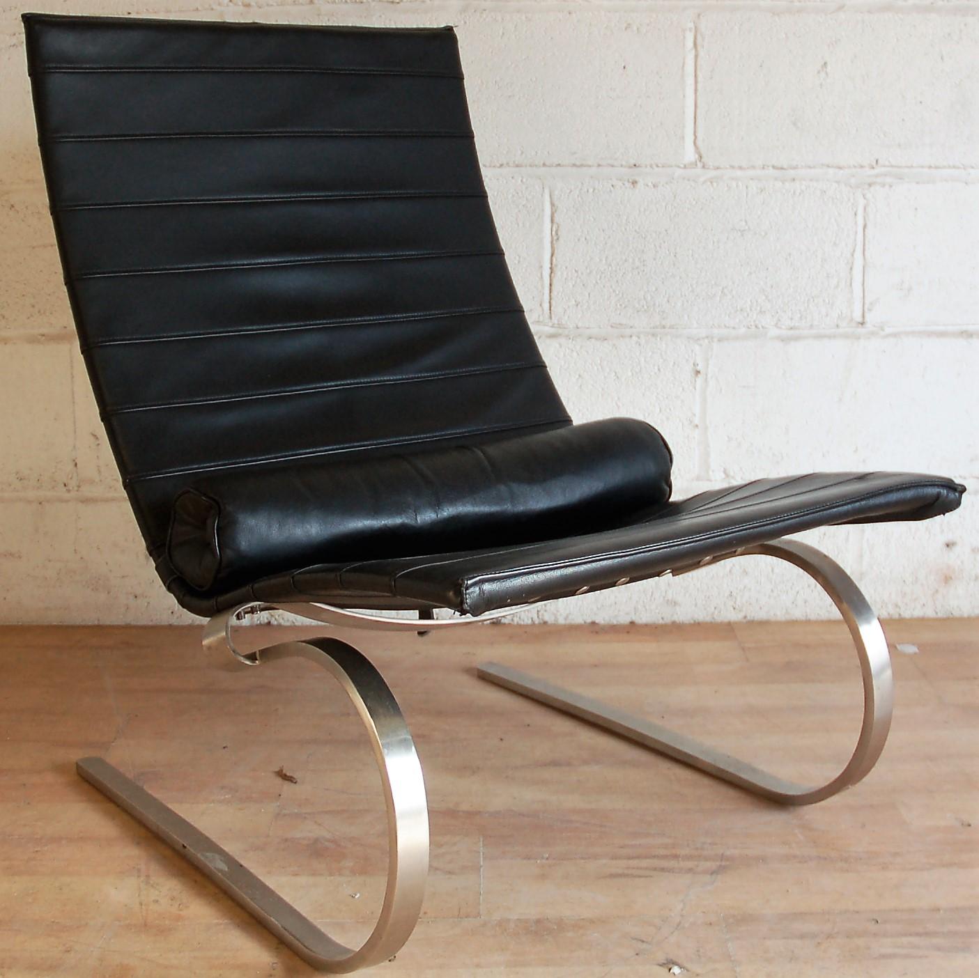 Pk20 Rocking Chair Poul Kjaerholm Replica 3008 Allard