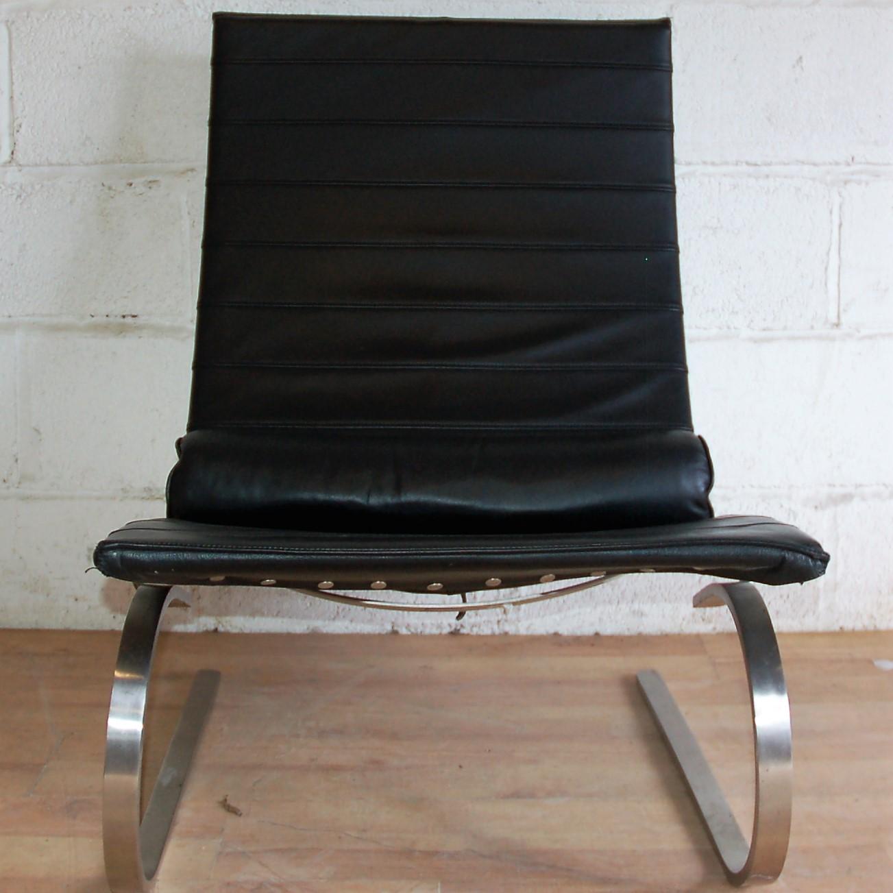 Pk20 rocking chair poul kjaerholm replica 3008 allard for Danish design furniture replica uk