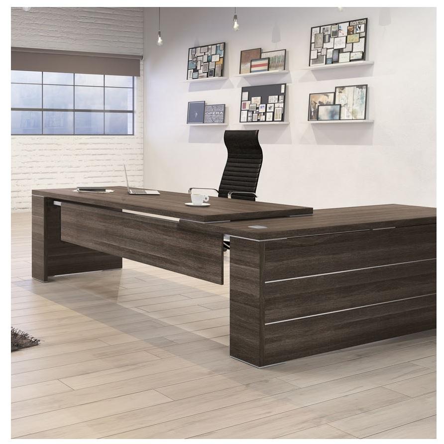 kara executive l shape desk allard office furniture. Black Bedroom Furniture Sets. Home Design Ideas
