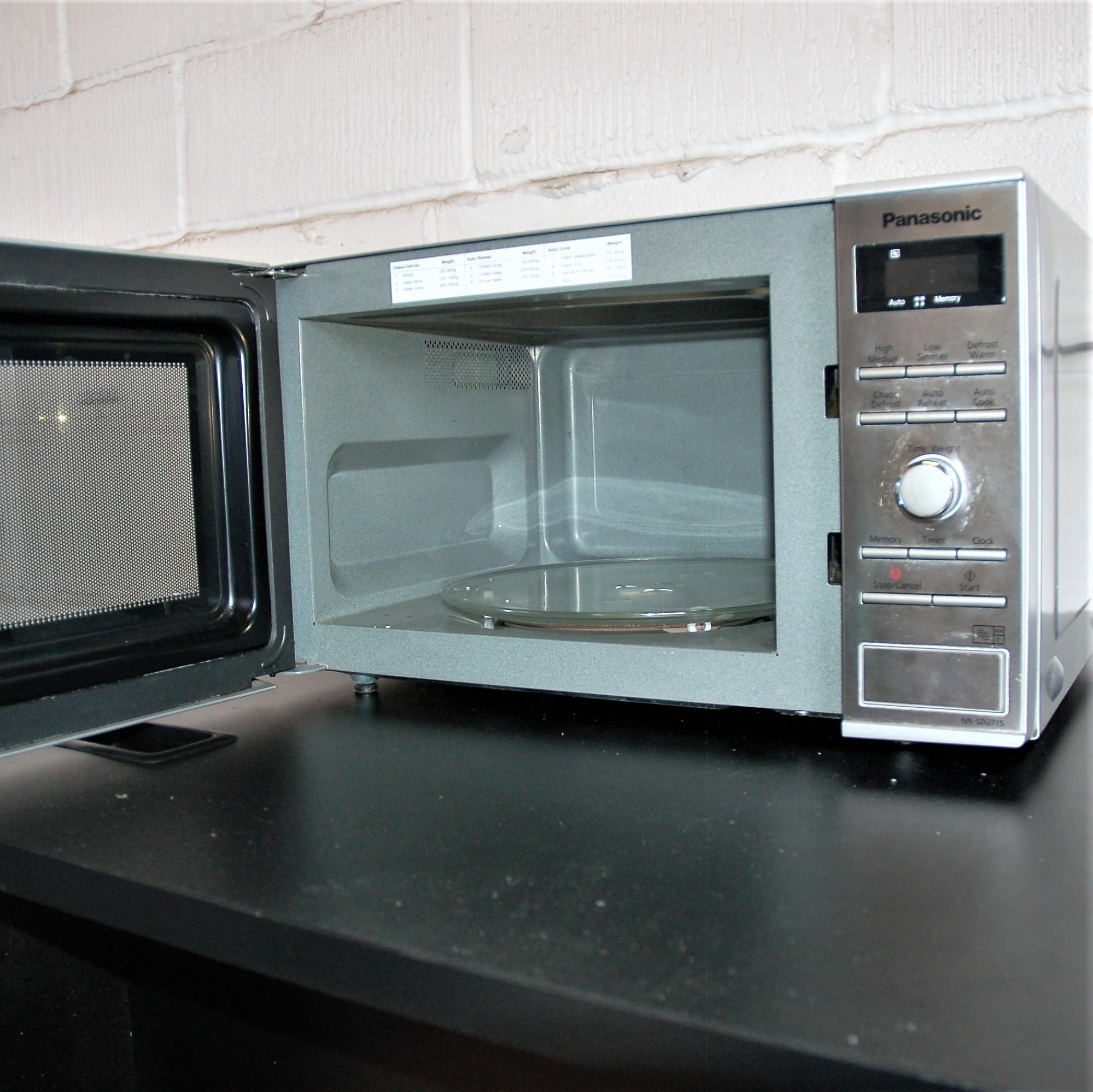 PANASONIC Microwave Oven NN-SD271S Stainless Steel 9047