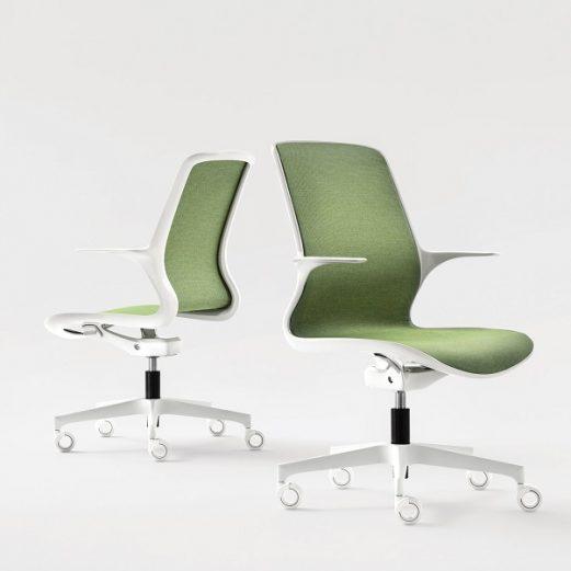 Loop Stylish Mesh Swivel Task Meeting Chairs,