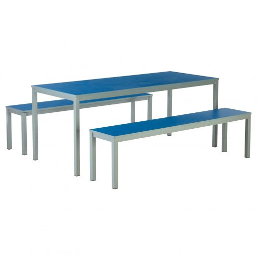 Metro Dinning Bench Sets - Canteen Cafe Tables
