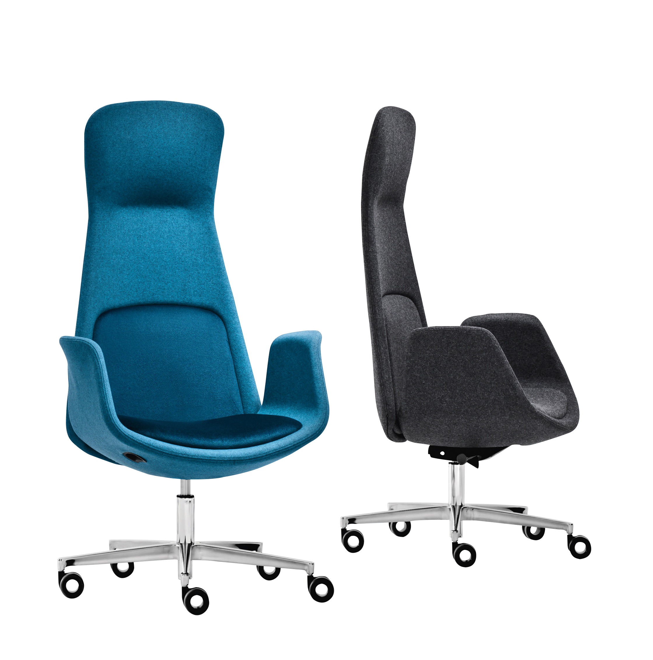 Nordic High Back Executive Chairs Italian Office Chairs