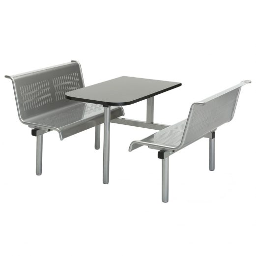 Cupid 17 Metal Fast Food Seating Units 2,4,6 Person Options