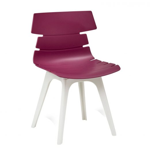 Hetton Poly Cafe Chairs 9 Colours + 2 Leg Colours
