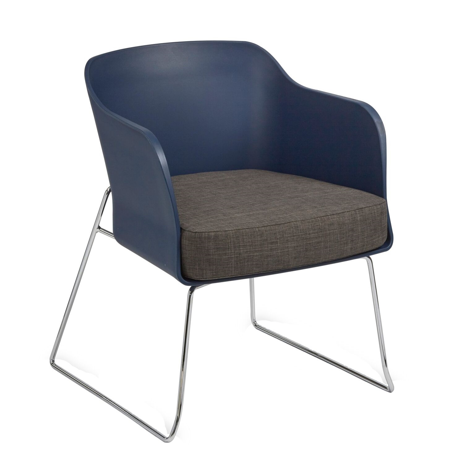 Astounding Timble Chrome Arm Chairs 4 Modern Colours Dailytribune Chair Design For Home Dailytribuneorg