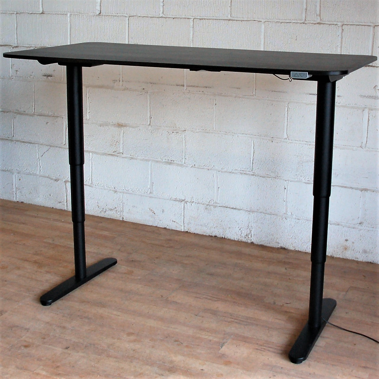 Bekant Electric Sit Stand Desk 160cm Black 11112 Allard