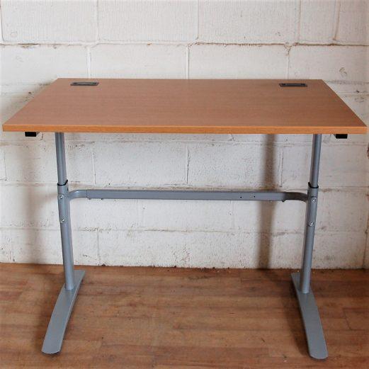 Used Sit Stand Height Adjustable Desks