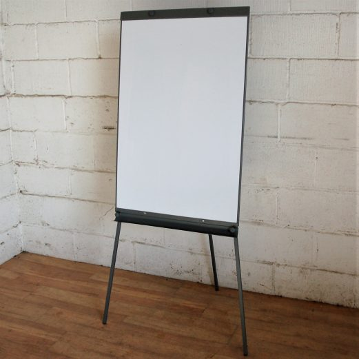 Dry-Wipe White Board Flipchart Easel 9068