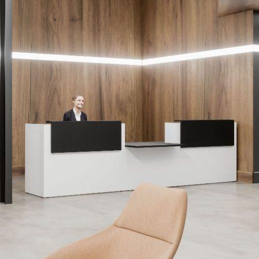 Fifty Full DDA Reception Counter,