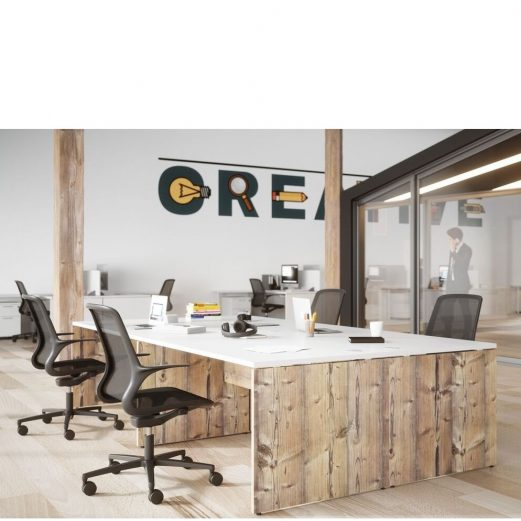 Retro Panel End Desks