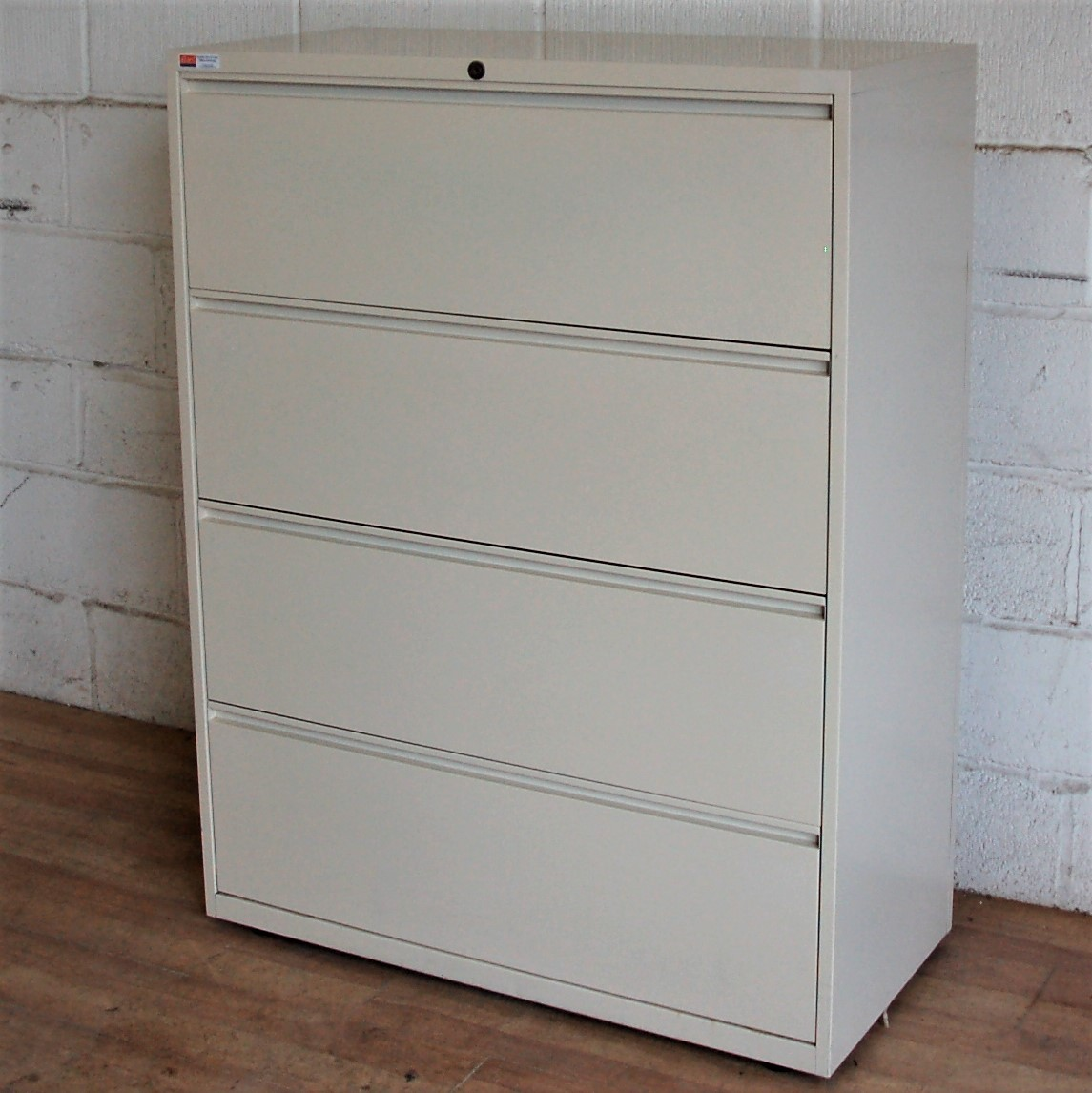 Bisley Lateral 4dwr Filing Cabinet Cream 6106