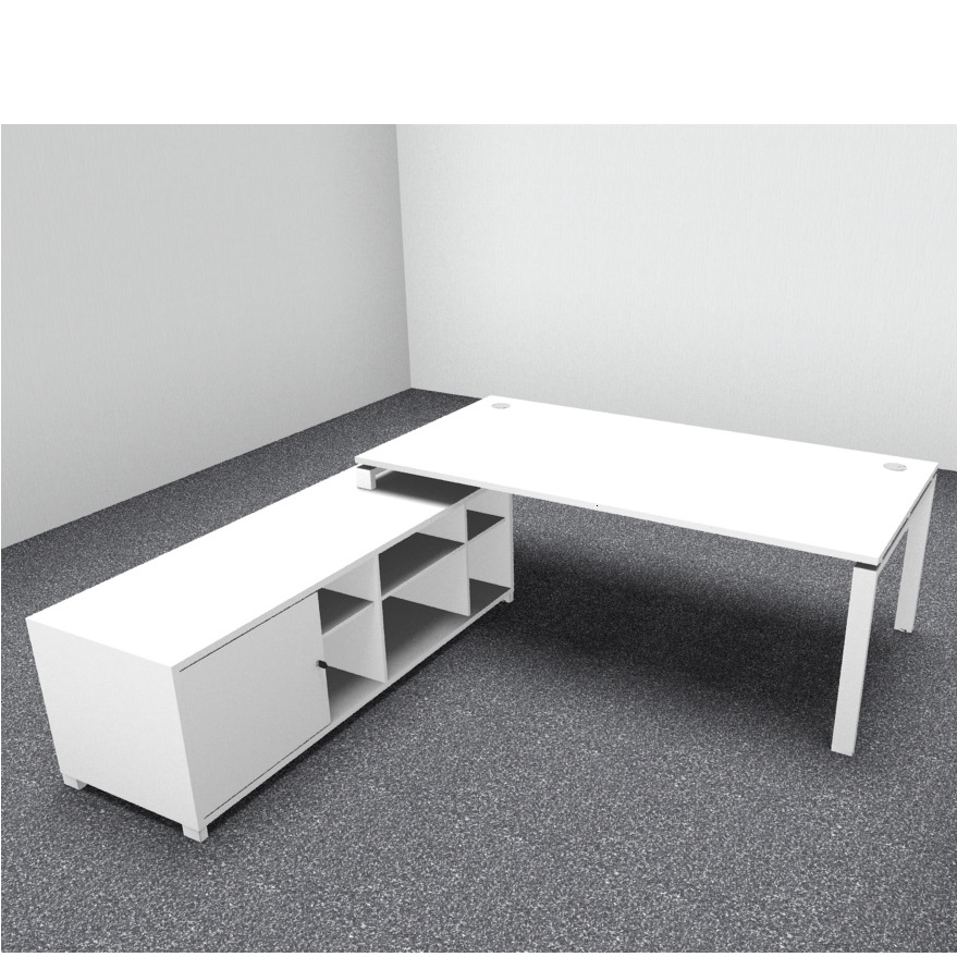 Astro Executive Desk With Support Unit Allard Office