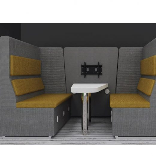 Hamilton 2 Person Booth Seating Optional Extras